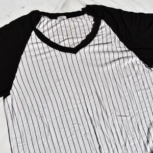 Brandy Melville Baseball T-shirt Dress